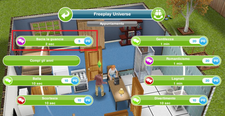 Come iniziare a frequentare in Sims FreePlay