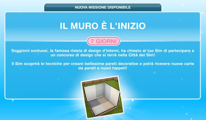 Riviste Di Design D Interni.Missione Il Muro E L Inizio The Sims Freeplay Universe